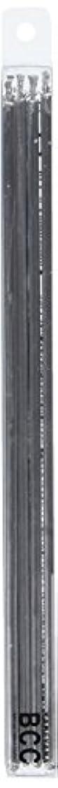 スクレーパー終了するメイト18cmスリムキャンドル 「 シルバー 」 10本入り 10箱セット 72361833SI
