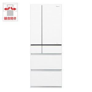 RoomClip商品情報 - パナソニック 501L 6ドア冷蔵庫(スノーホワイト)Panasonic エコナビ NR-F511PV-W