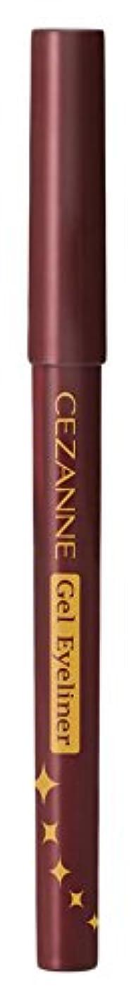 消毒剤リマ重量セザンヌ ジェルアイライナー 20 バーガンディー 0.1g