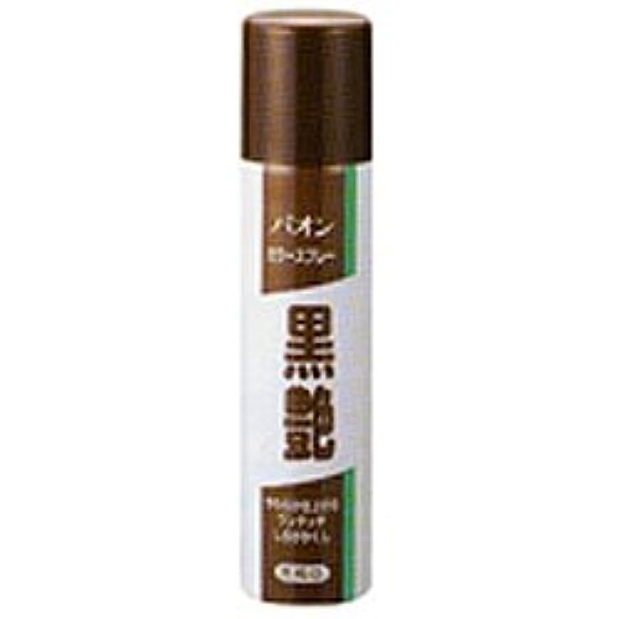【シュワルツコフ ヘンケル】パオンカラースプレー黒艶 黒褐色 85g ×10個セット