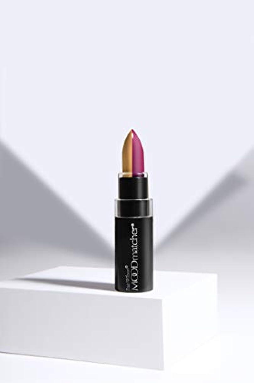 言う偽造頭痛Fran Wilson MOODMATCHER Split Stick Lip Color Gold/Magenta (並行輸入品)
