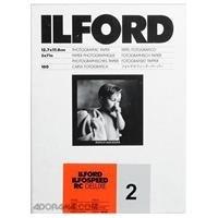 """Ilford Ilfospeed RCデラックス樹脂コーティングブラック&ホワイトEnlarging用紙–5x 7"""" - 100シート–44M–パールサーフェス–グレード2–商業用、押し、産業、広告、および表示作業"""