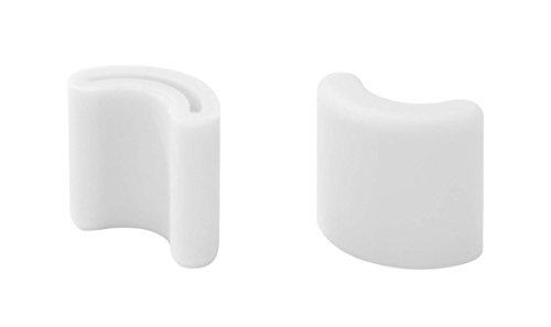 山崎実業 ポリ袋エコホルダータワー用キャップ 2個組 ホワイト 2557