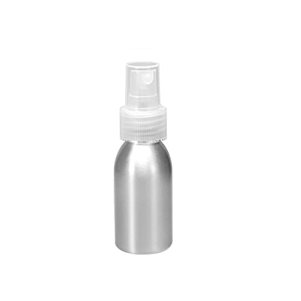 密度開示する製品uxcell アルミスプレーボトル クリアファインミストスプレー付き 空の詰め替え式コンテナ トラベルボトル 1oz/30ml