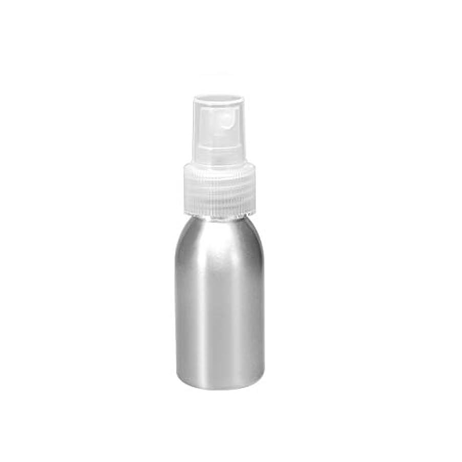 音楽種類かすかなuxcell アルミスプレーボトル クリアファインミストスプレー付き 空の詰め替え式コンテナ トラベルボトル 1oz/30ml