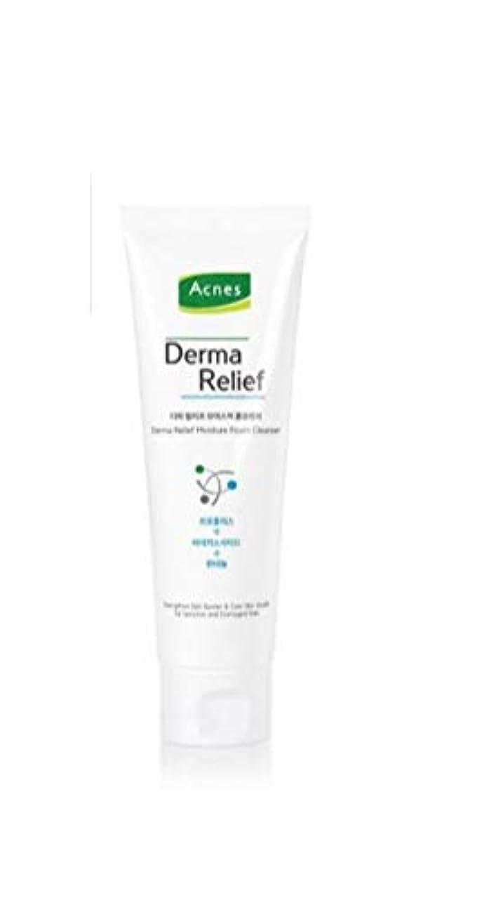 乳製品キー記念碑的なAcnes(アクネス)☆Derma Relief Moisture Foam Cleanser125ml(弱酸性)[並行輸入品]