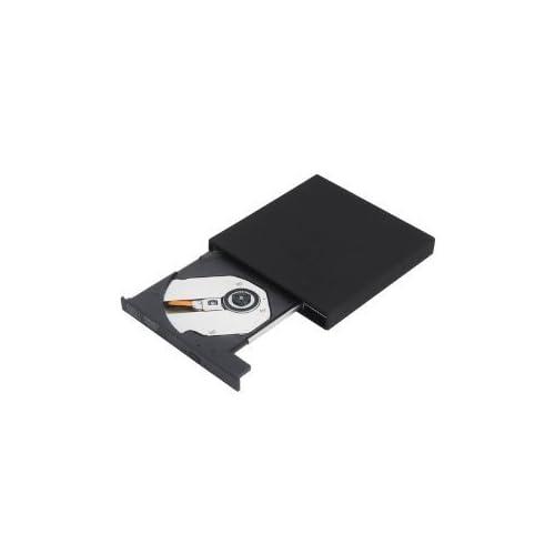 Yosoo(TM)USB2.0スリム外付けのDVD-ROM、CD-RWコンボドライブ ブラック