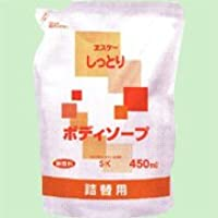 しっとりボディソープ詰替用 450ml   エスケー石鹸