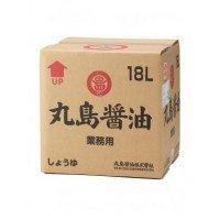 丸島 有機純正醤油(業務用)18L 1257