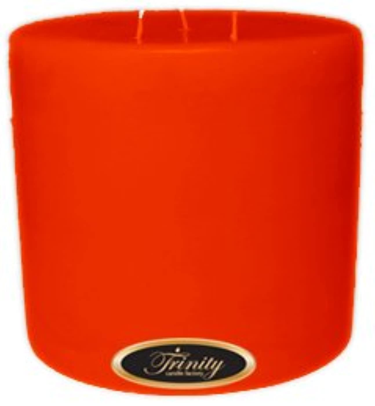 ラッチ裁判官バイソンTrinity Candle工場 – Autumn harvest – Pillar Candle – 6 x 6