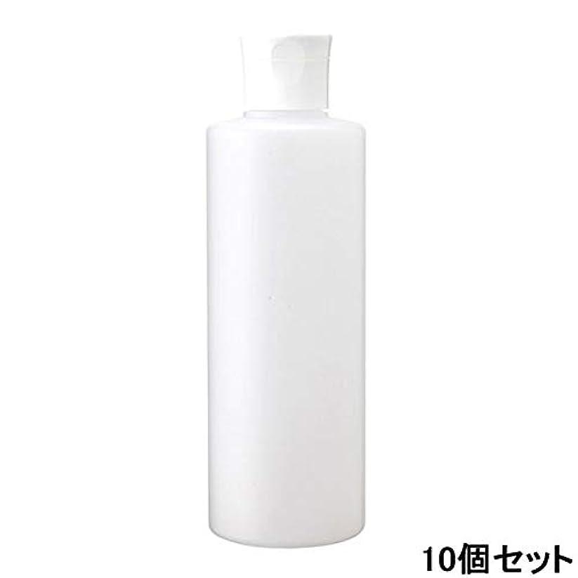 物理的にポルトガル語人柄ペットボトル容器 半透明 250mL (ワンタッチキャップ付き) (10個セット) [ ペットボトル 空ボトル 空容器 ワンタッチ キャップ 詰替え 別売スプレーヘッド対応 別売ポンプヘッド対応 ]