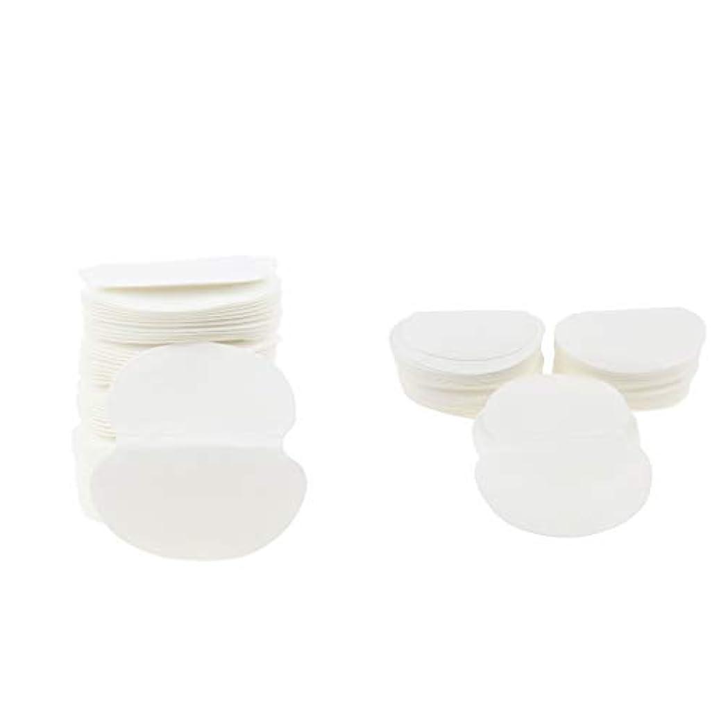 トイレ唇悪意dailymall 100個の脇の下汗パッド-男性と女性のための多汗症と戦う-目に見えない、接着剤、使い捨て-脇の下ガードシールド