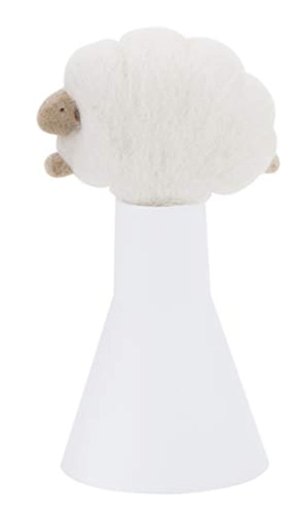 まっすぐ余計な支配するSLEEP sheep アロボックル アイボリー
