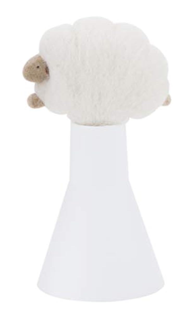 服を着る割り込みクレアSLEEP sheep アロボックル アイボリー
