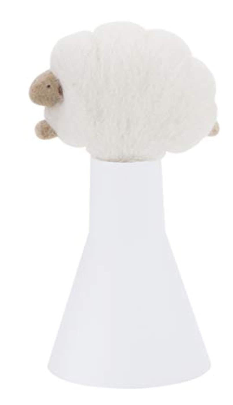 膨張する誤解させる可動式SLEEP sheep アロボックル アイボリー