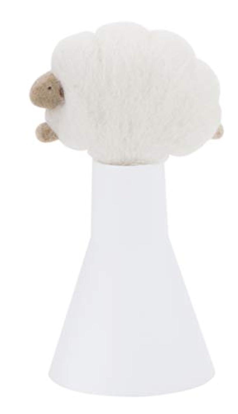 温度挨拶フラップSLEEP sheep アロボックル アイボリー