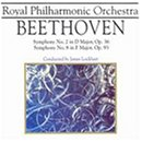 Beethoven: Symphonies no 2 & 8 / Lockhart, Royal Philharmonic Orch