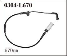 ブレーキパッドセンサー(フロント必要本数分セット) BMW E60(SEDAN) 525i【NE25 05/6~06/9】