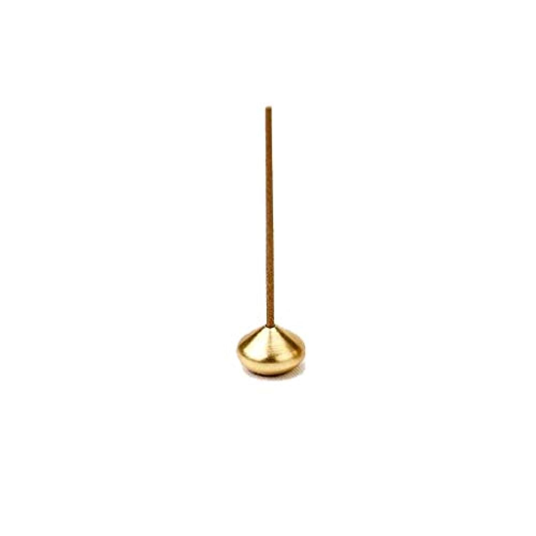 レザー姪快適銅香炉ラウンドひょうたん型香スティックコイルボトルバーナーホルダー多孔性香ホルダーホームフレグランス (Color : B)