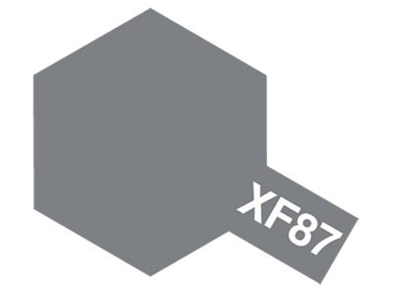 タミヤ 【塗料】 アクリルミニ XF-87 舞鶴海軍工廠グレイ (日本海軍)