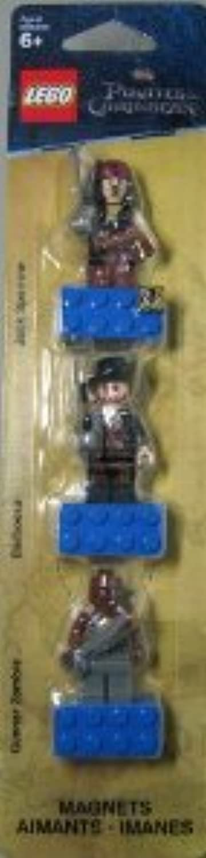 Lego (レゴ) Pirates of the Caribbean (パイレーツオブカリビアン) Magnet Set: Jack Sparrow, Hector Barbossa and Gunner Zombie ブロック おもちゃ (並行輸入)