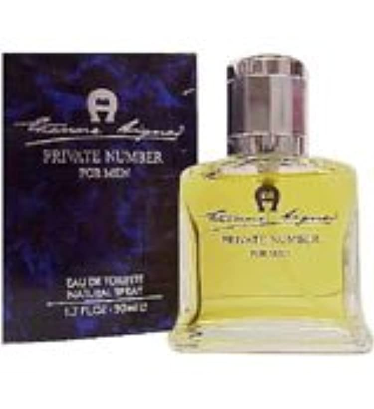 謝罪パトワ食物Private Number (プライベート ナンバー) 3.4 oz (100ml) EDT Spray by Etienne Aigner for Men