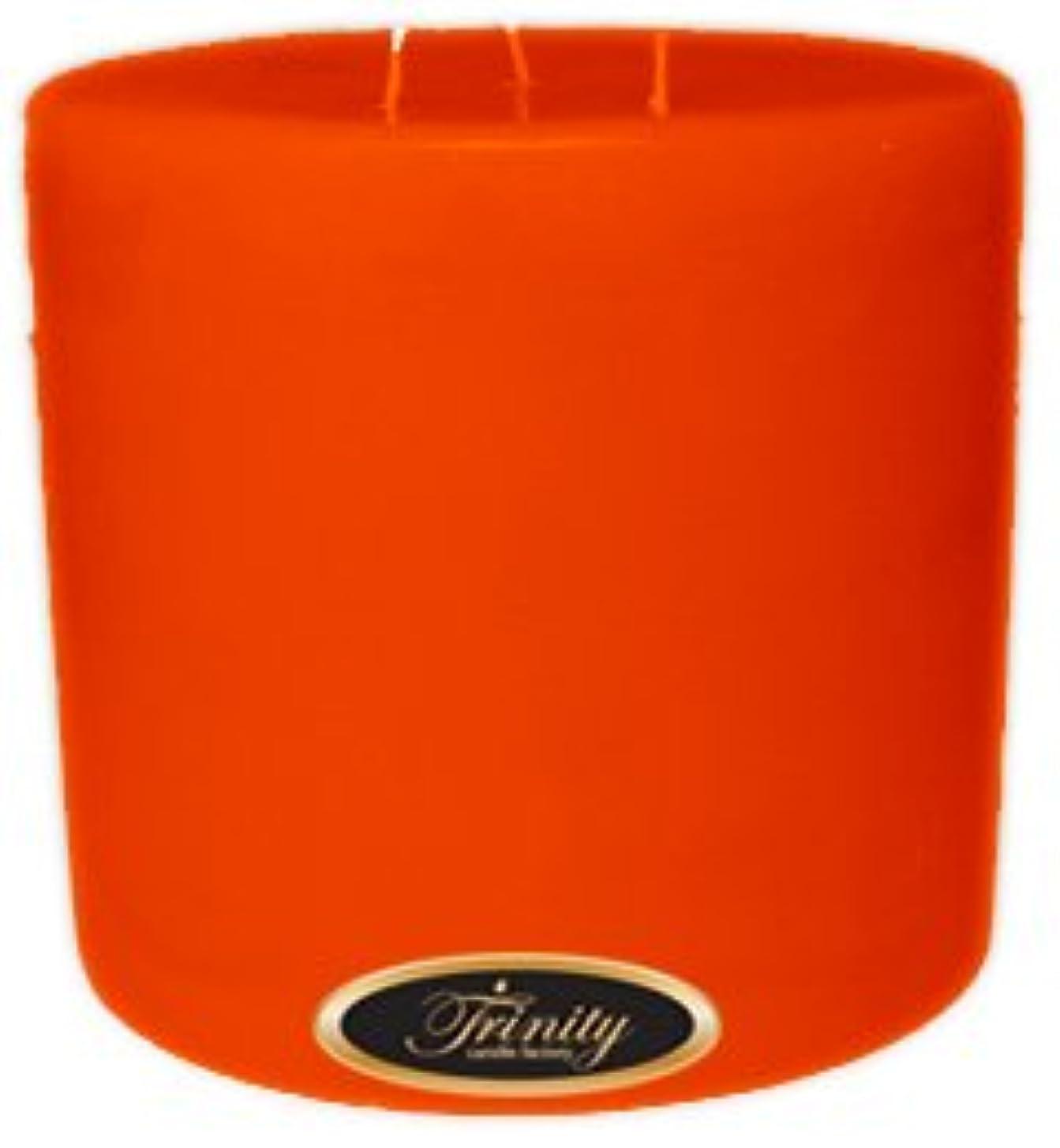 天の暗い人類Trinity Candle工場 – スイカズラ – Pillar Candle – 6 x 6