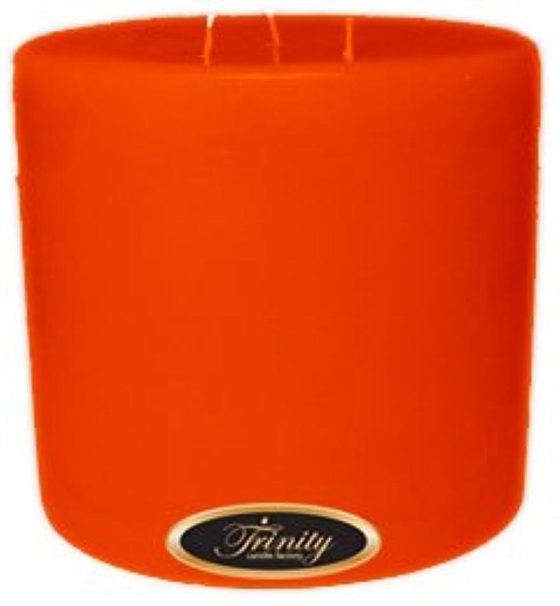 生きているヒューマニスティック消えるTrinity Candle工場 – スイカズラ – Pillar Candle – 6 x 6