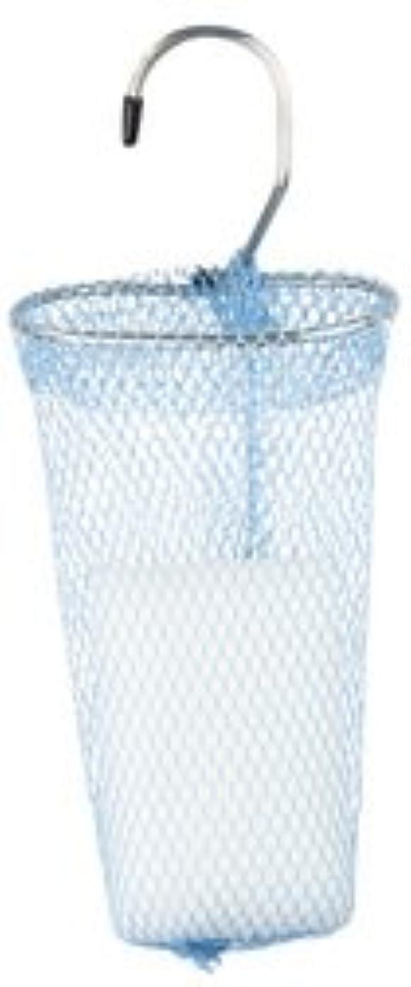 寛容なマイルド成熟した石けんネット リングタイプ 10枚組 ブルー