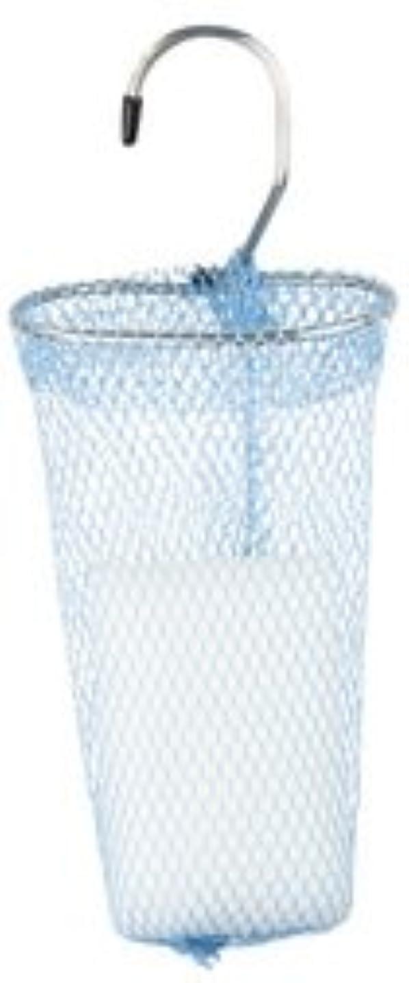 副実用的に慣れ石けんネット リングタイプ 10枚組 ブルー