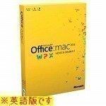 【旧商品】日本マイクロソフト Office Mac Home & Stu. Family P.2011英語