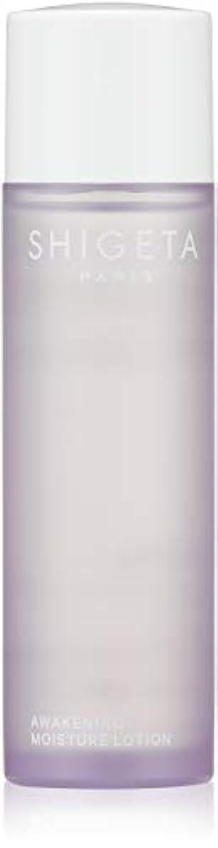 吸収剤エネルギー表向きSHIGETA(シゲタ) AW モイスチャーローション 110ml