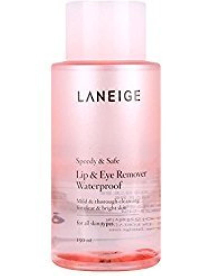 に勝るアブストラクト帳面Laneige Lip & Eye Makeup Cleanser Waterproof 5.1fl.oz./150ml [並行輸入品]