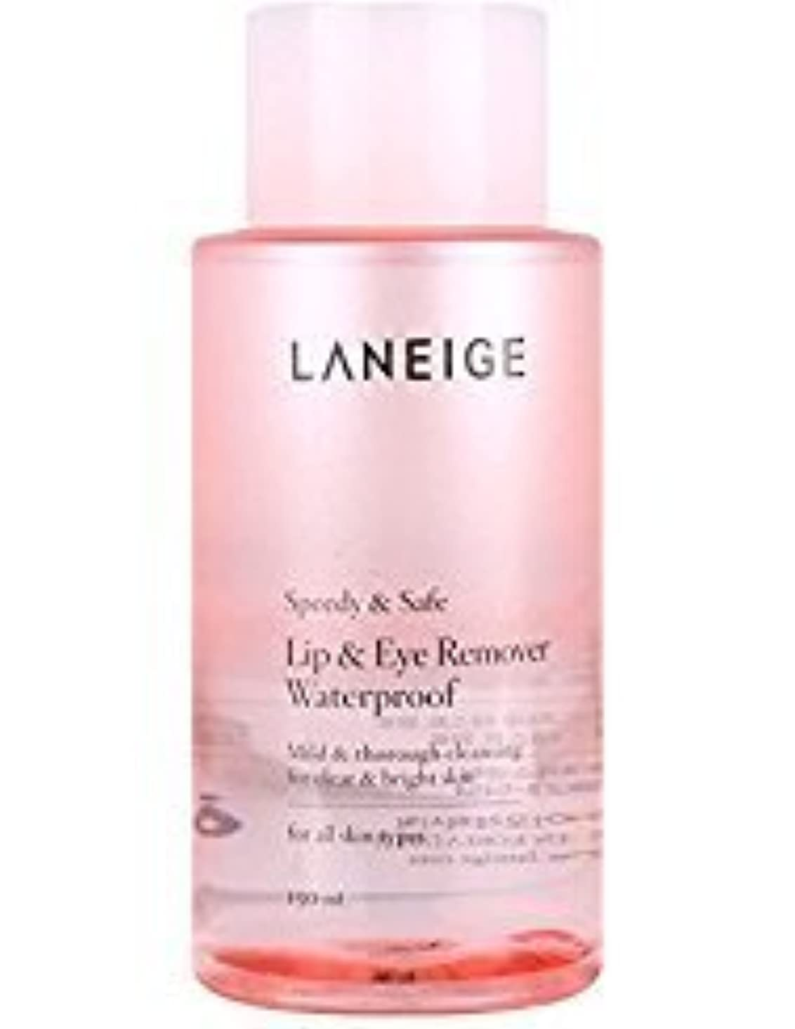 誤解レイア結晶Laneige Lip & Eye Makeup Cleanser Waterproof 5.1fl.oz./150ml [並行輸入品]