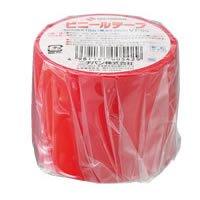 ニチバン ビニールテープ VT-50 赤 50mmX10m巻 4セット