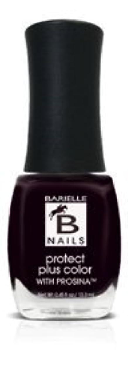 大佐階段致命的Bネイルプロテクト+ネイルカラー(プロッシーナ) - ブラックローズ