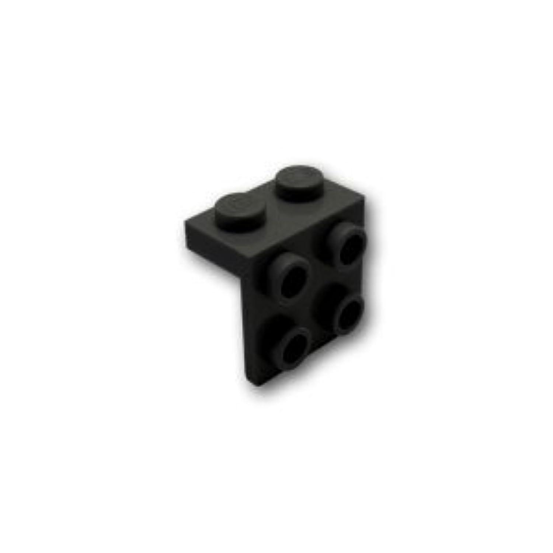 レゴブロックパーツ ブラケット 1 x 2 / 2 x 2:[Black / ブラック]【並行輸入品】