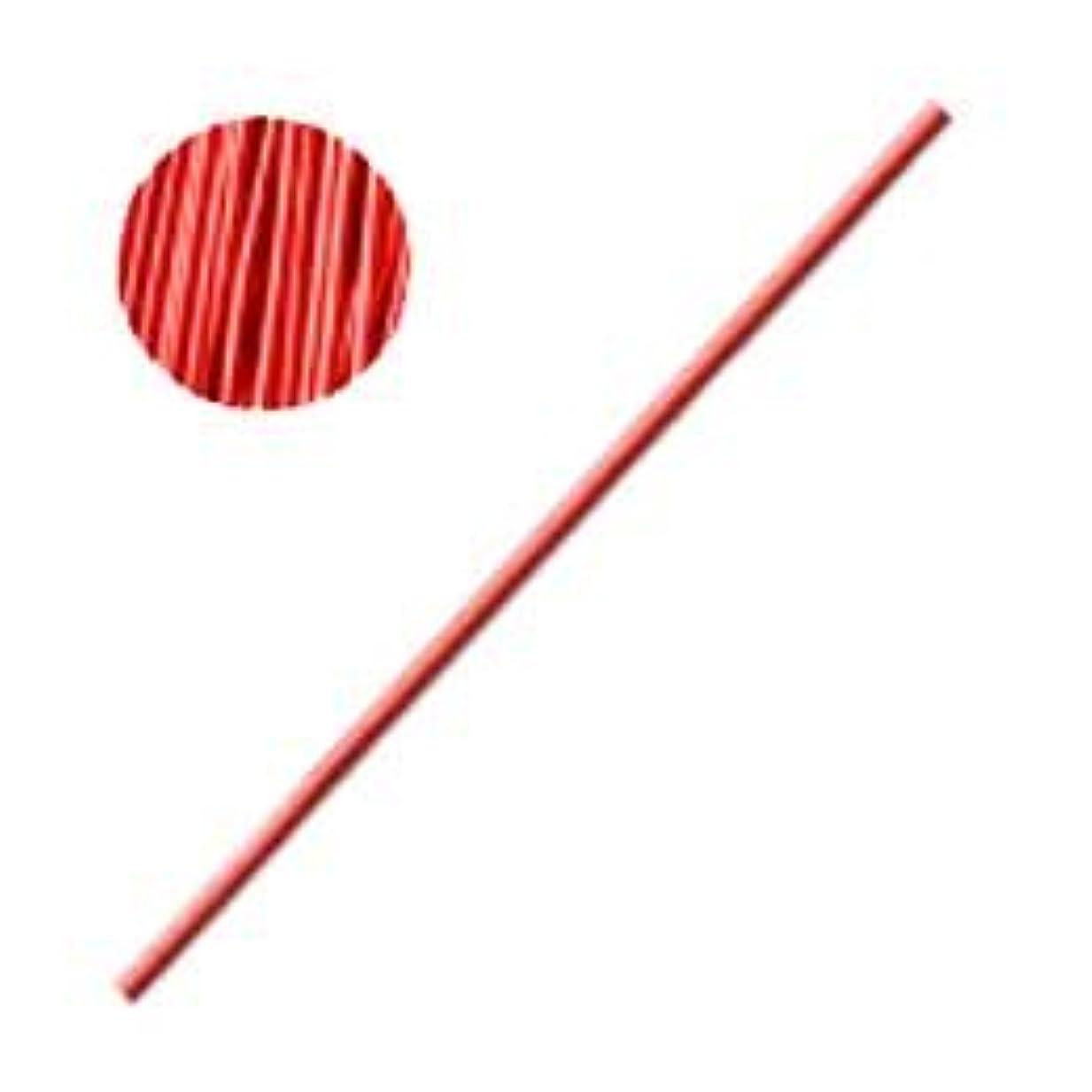 イタリアの輝度故意のBonnail カラーワイヤー レッド 10cm