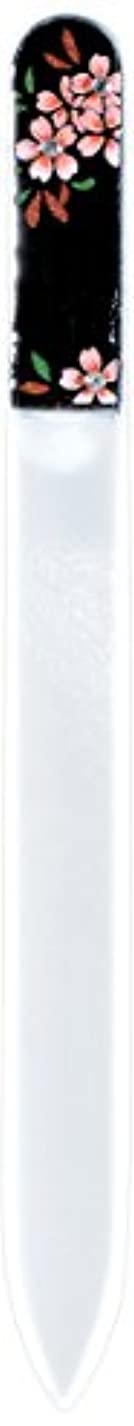 ファントム貯水池ストロー橋本漆芸 ブラジェク製高級爪ヤスリ スワロフスキー桜 紙箱