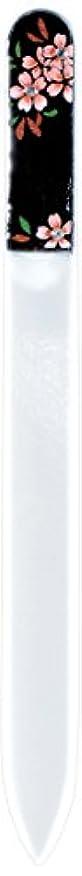 本体楽しい気まぐれな橋本漆芸 ブラジェク製高級爪ヤスリ スワロフスキー桜 紙箱