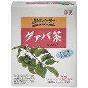 野草茶房 グァバ茶 100% 2g×32 【黒姫和漢薬研究所】 iwasaya