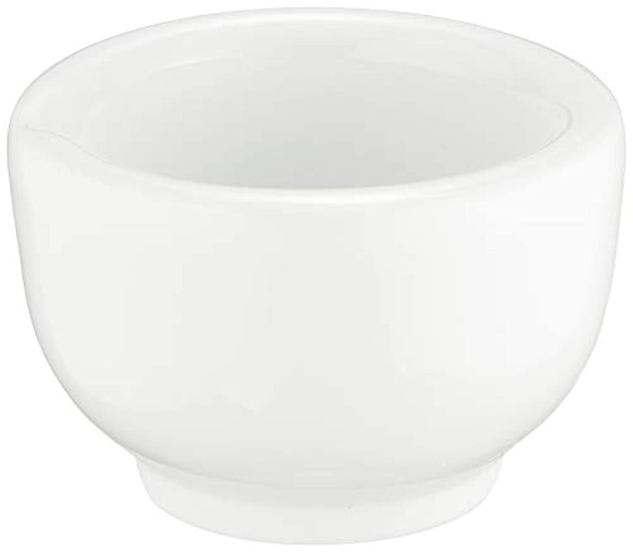 ボーダー逸脱バタフライ丸寿製陶 乳鉢のみ 磁製 並60mm用