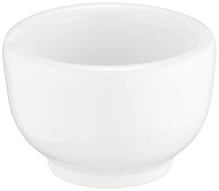 補体蜜暖かく丸寿製陶 乳鉢のみ 磁製 並60mm用