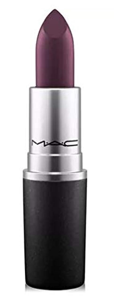 紳士気取りの、きざな準備早めるマック MAC Lipstick - Plums Smoked Purple - deep eggplant purple (Matte) リップスティック [並行輸入品]