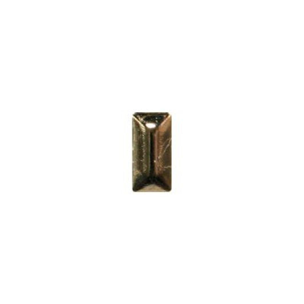 失敗意味するランタンピアドラ スタッズ メタル長方形 2×4mm 50P ゴールド