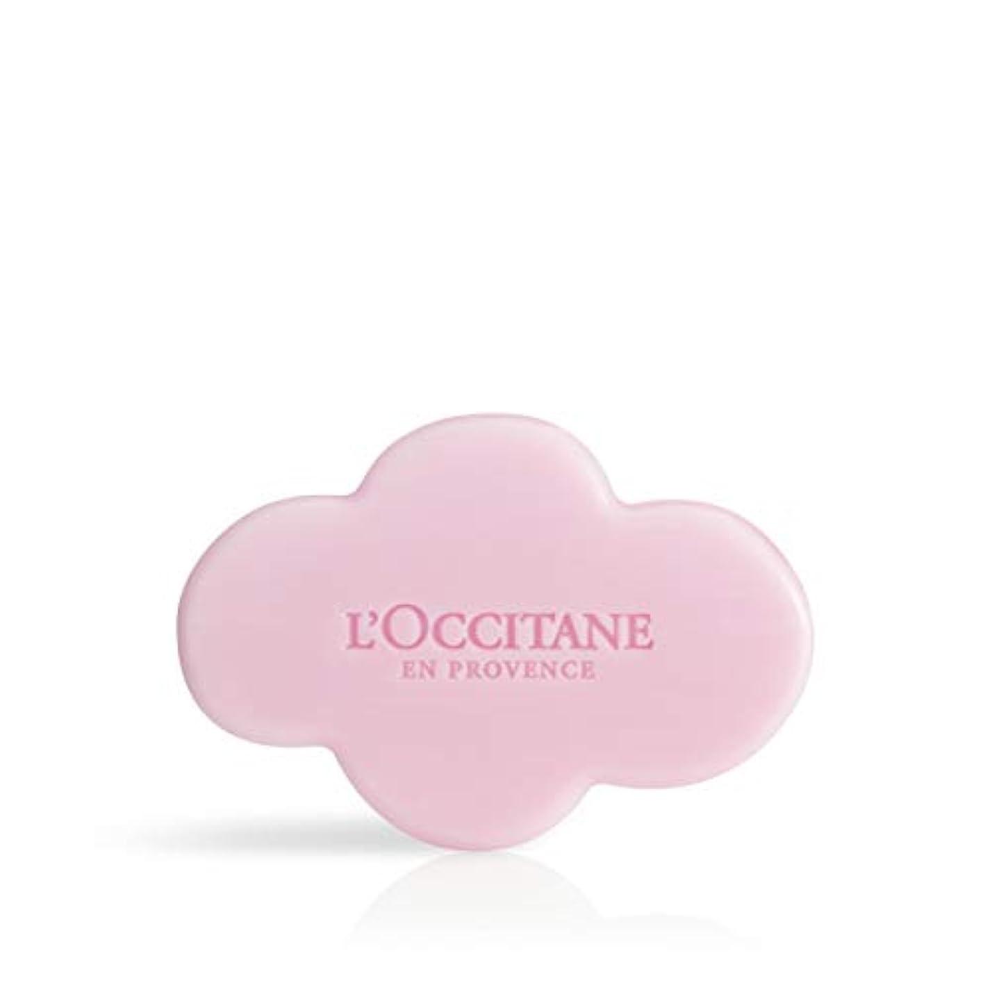 適合対応麺ロクシタン(L'OCCITANE) フェスティブガーデン シア ソープ 150g 石鹸 スパークリングフローラル
