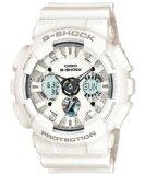 CASIO カシオ G-SHOCK Gショック 腕時計 GA-120A-7ADR 海外モデル アナデジ ホワイト [時計] 逆輸入品