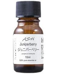 ASH ジュニパー エッセンシャルオイル 10ml AEAJ表示基準適合認定精油