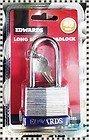 edwards Cadenas à anse longue de 40 mm avec 2 clés