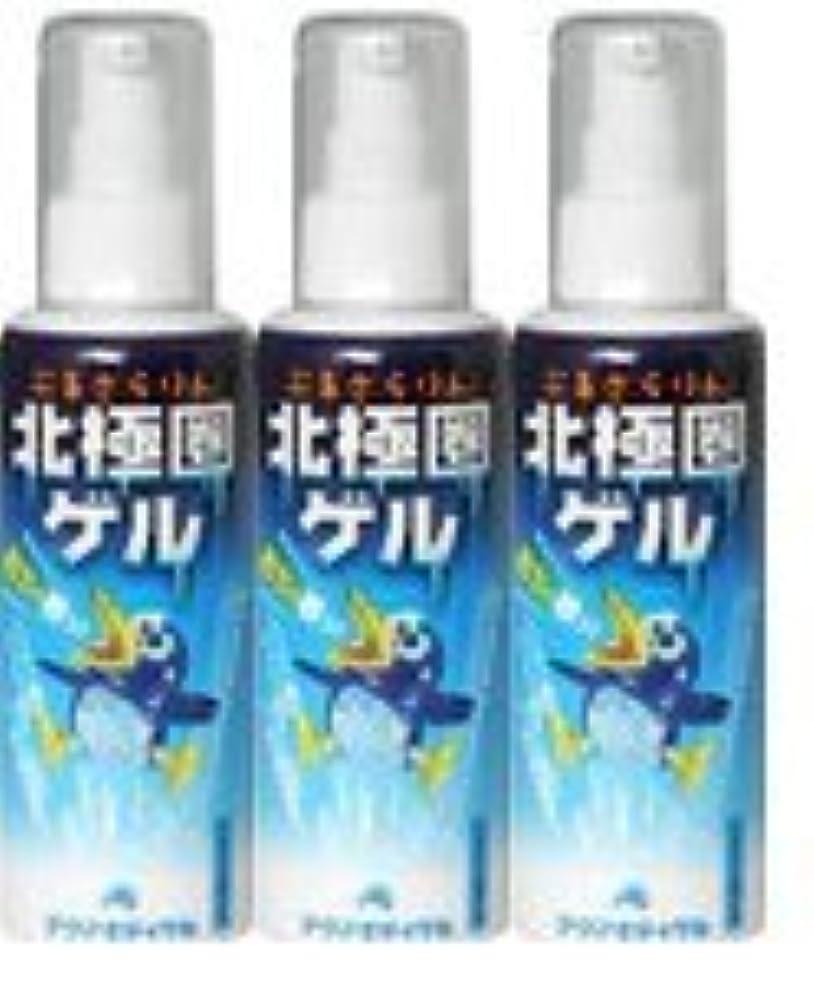 【3本セット】 ぷるさらりん 北極圏ゲル 90g
